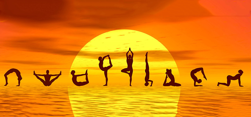 the healing sun of yoga